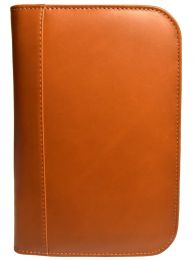 Aston Leather Collector's 10 Pen Case - Tan