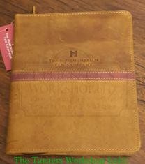 24 x Pen Crazy Horse Light Brown Leather Case