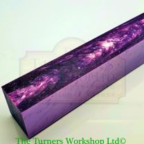 Kirinite Lavender Ice Series Pen Blank