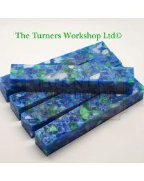 Sea Emerald Pen Blank