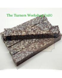 Acrylic Barley Granite Pen Blank