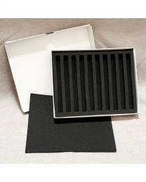 10 Pen Foam Lined box