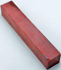 """Red & Blue Lava Pen Blank 7/8"""" x 5"""""""