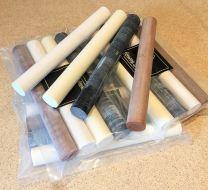 4 X Conway Stewart ebonite & casein material pen blanks