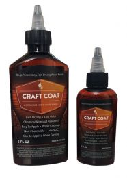 Craft Coat / 2oz - Water Based Exotic Wood Finish