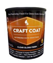 Craft Coat / Quart - Water Based Exotic Wood Finish