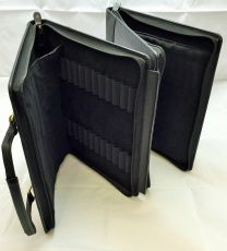 96 x Pen Leather Briefcase by The  Northumbrian Pen Co