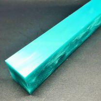Kirinite Turquoise Pearl Pen Blank