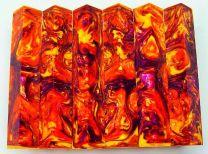 #14# Lava Explosion Pen Blank