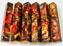 #8# Lava Explosion Pen Blank