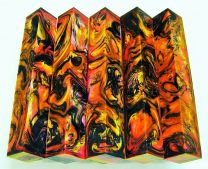 #36# Lava Explosion Pen Blank