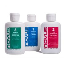 Novus Plastic Polish 3 Pack (8oz/237ml)