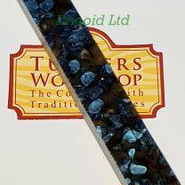 Erinoid Rhodonite Pen Blank