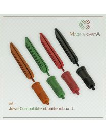 Red Jowo Compatible Ebonite Nib Units
