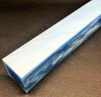 Kirinite Sky Blue Pearl Pen Blank