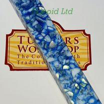 Erinoid Sky Blue Topaz Pen Blank