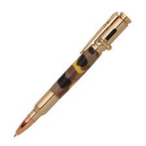 30 Caliber Bolt Action 24kt Gold Bullet Cartridge Pen Kit